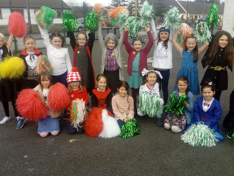 Feasts & Festivals galore for 2nd Class