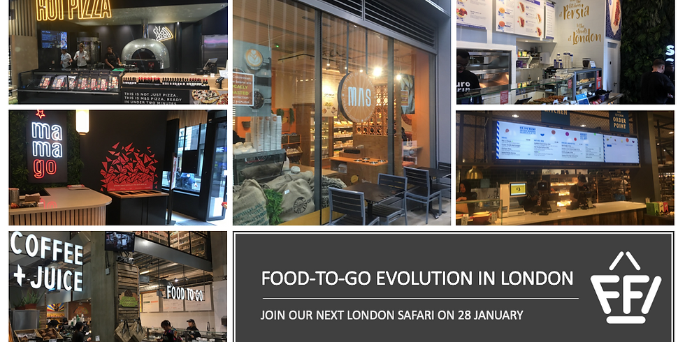 London safari: food-to-go and format evolution