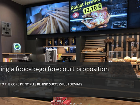 Building a forecourt food-to-go proposition: a guide