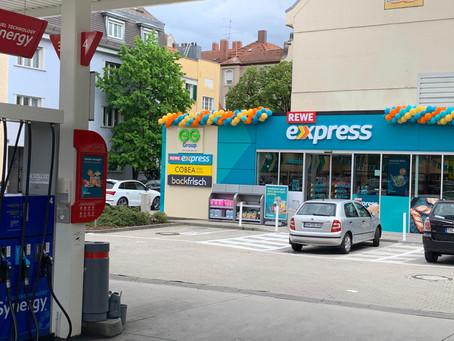 First look: REWE Express, Munich