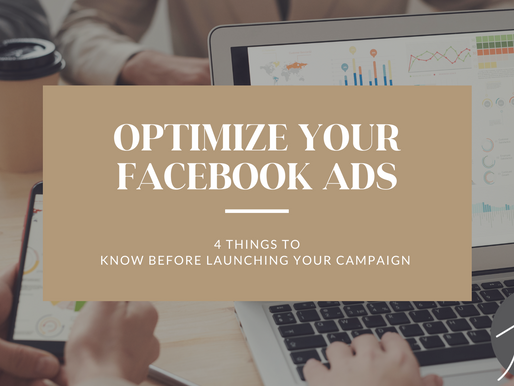 4 THINGS TO KNOW BEFORE LAUNCHING YOUR FACEBOOK PAID SOCIAL MEDIA CAMPAIGN