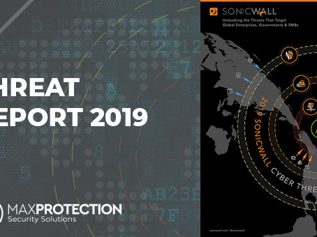 Relatório de Ameaças Cibernéticas da SonicWall 2019