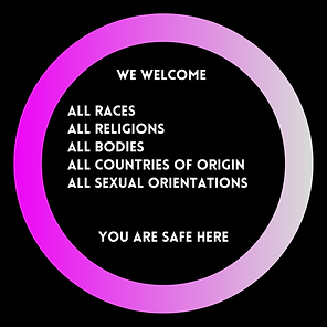 We Welcome We welcome all races, all rel