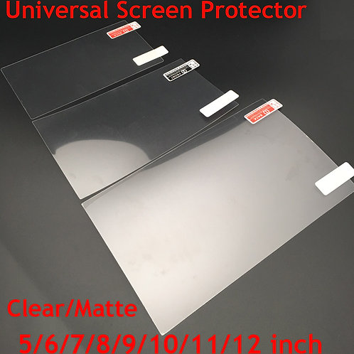 Screen Protectors for Car GPS LCD/Car Console