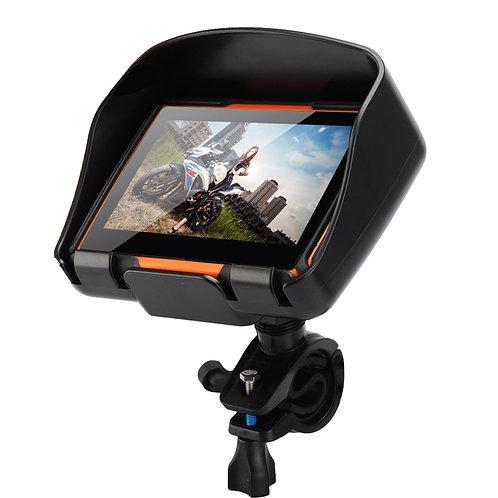 4.3 Inch 8GB Waterproof Moto Bluetooth GPS Navigator