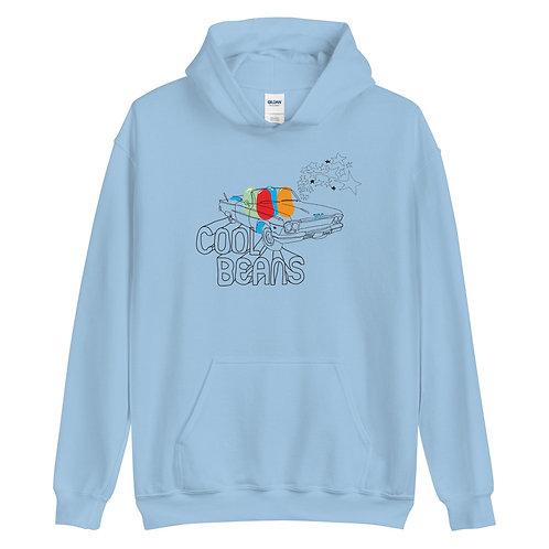 Cool Beans   Baby Blue Hoodie