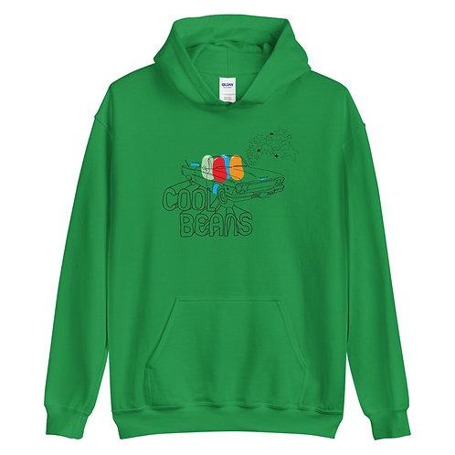 Cool Beans   Green Hoodie