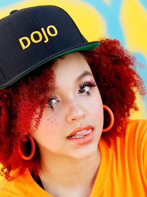 Black DOJO Snapback Hat