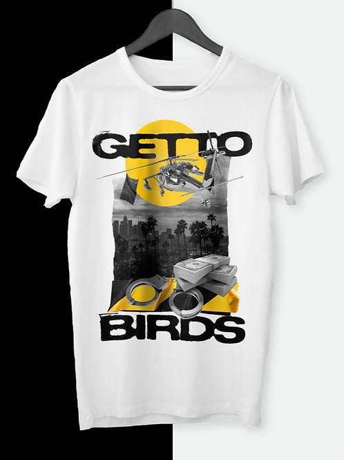 Hustle recognizes Hustle   Getto Birds Tee