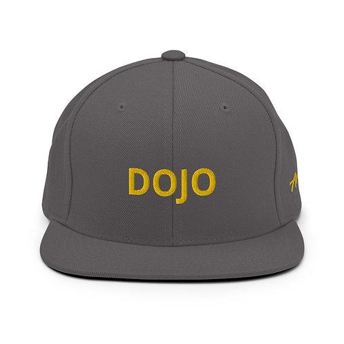 Grey DOJO Snapback Hat