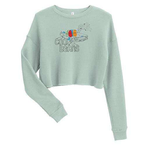 Cool Beans Crop Sweatshirt