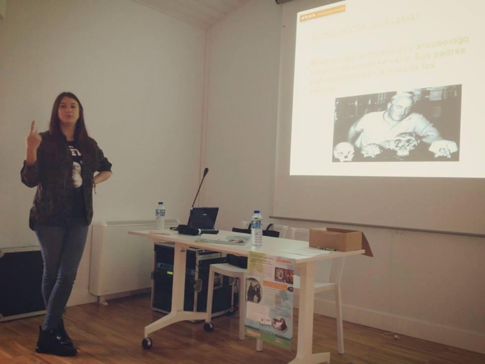 charla de Íria Roade en A Coruña