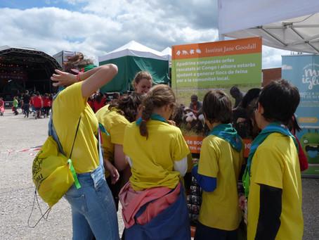 """Participamos de la """"Jamborinada"""" con 13.000 jóvenes en Cataluña"""