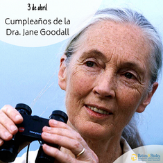 ¡Felices 86 Dra. Jane!