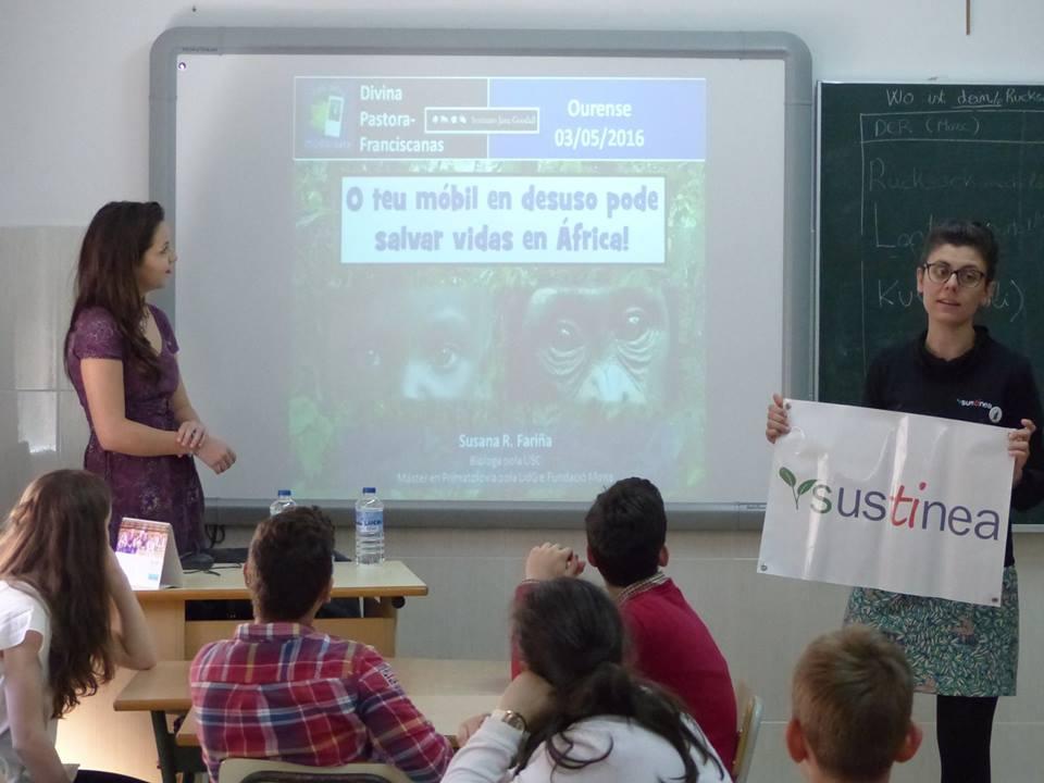 charla con Sustinea en Ourense