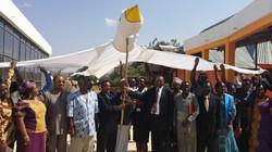Ambassador Mahiga and Member of Parlialment of Tanzania permanent Safety and securty commitee of Tan