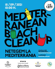 """""""Raíces y Brotes"""" participa en la limpieza tridimensional del Mediterráneo organizada por WE CARE."""