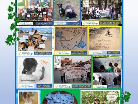 """Los grupos """"Raíces y Brotes"""" se unen para celebrar el Día Internacional de la Paz"""