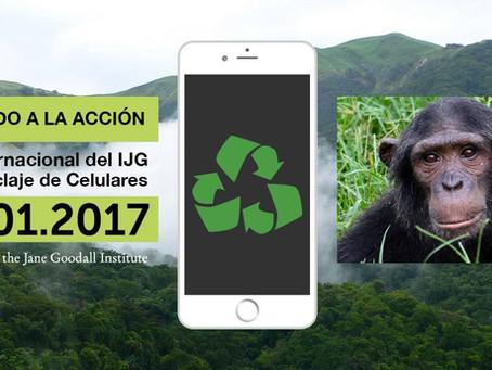 24 de Enero Día Internacional del Reciclaje de teléfonos móviles
