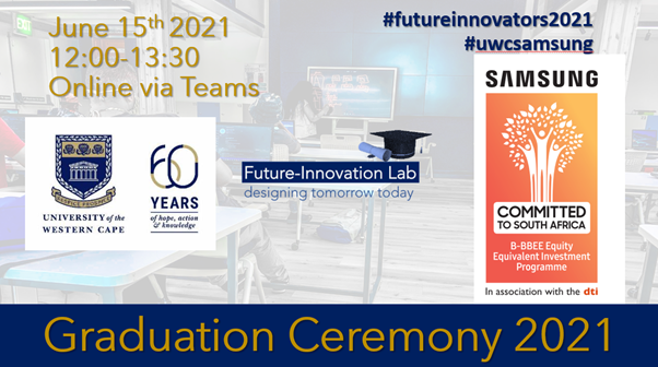 Certificate ceremony for graduates of the Future-Innovation Programme
