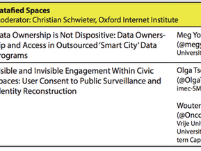 CoLab presents research paper on Smart Cities at Oxford