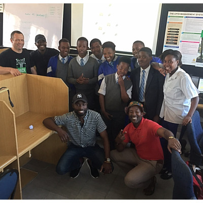 Introduction to Object Oriented programming:  Bootcamp at Fezeka High School, Gugulethu