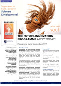 The CoLab now recruiting the first cohort on the exciting new Future-Innovation Programme with Samsu