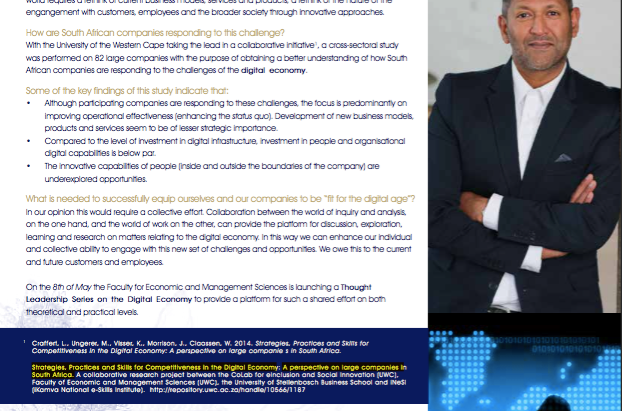 Thought Leadership Series on the Digital Economy (Aug '15): WT# is the digital economy- Prakash