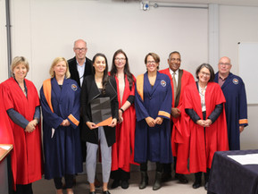 Our first 2 joint Phd students graduate!