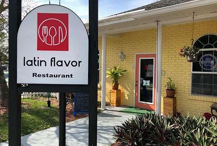 Latin Flavor Main entrance