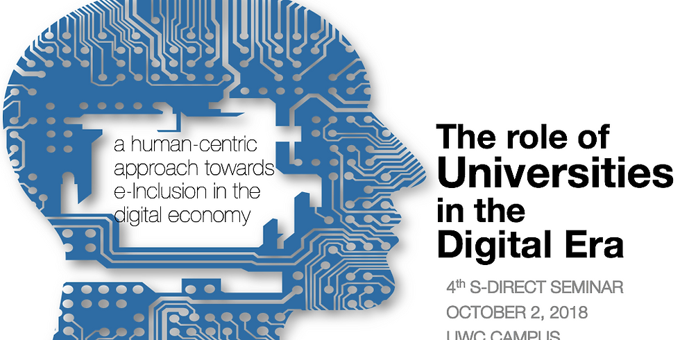 4th S-DIRECT SEMINAR- The role of universities in the digital era (1)