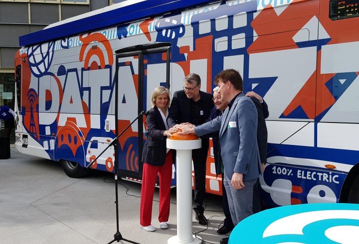 DataBuzz launch in Belgium