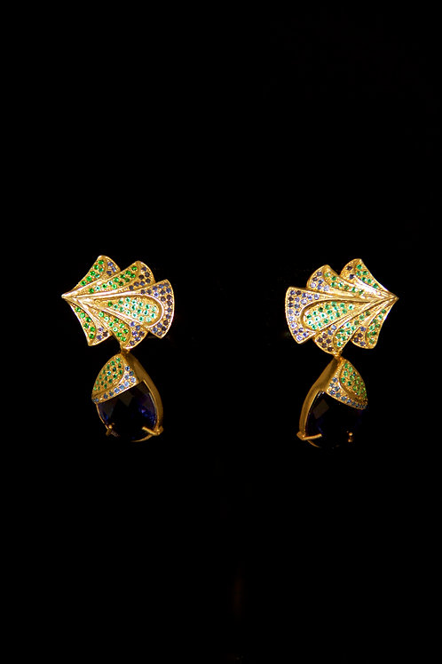 Sydney Blue Quartz Earrings