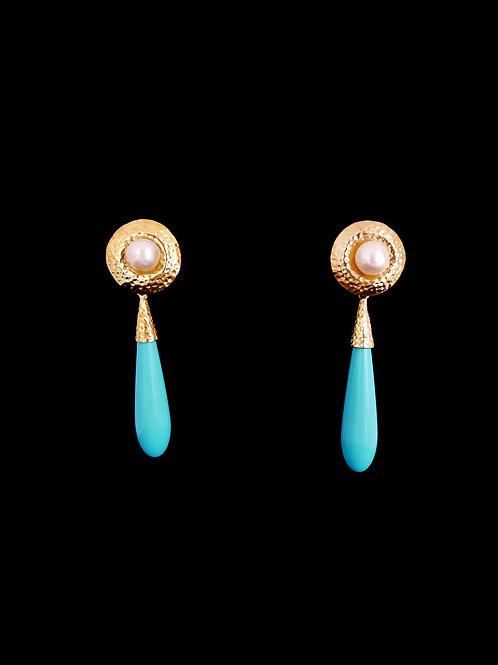 FP Turquoise CG Earrings
