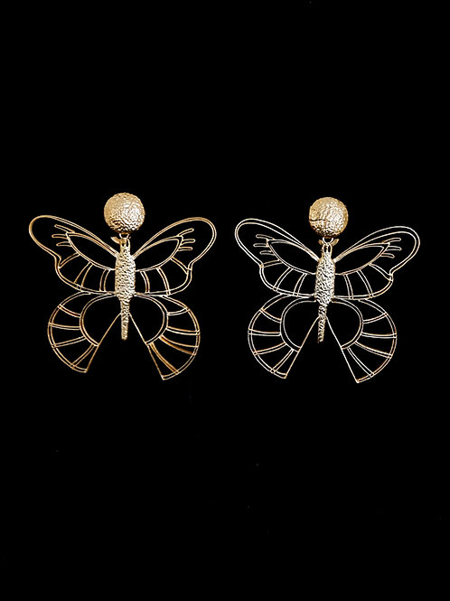 Butterfly Wire Earrings