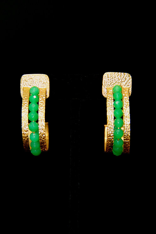 Green Onyx Harana Earrings