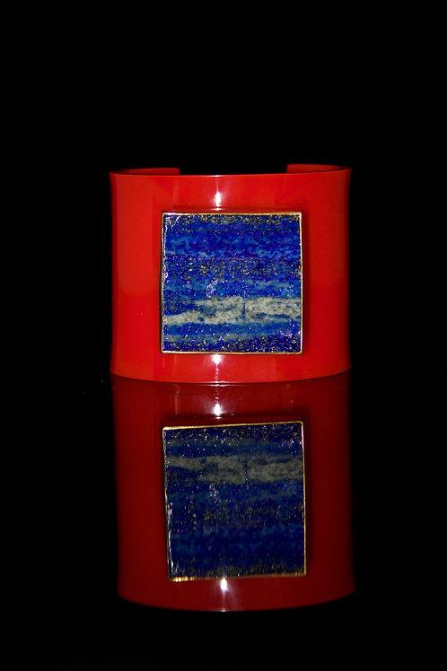 Lapis Lazuli Red x Lego Cuff
