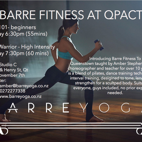 Barre Comes To Queenstown