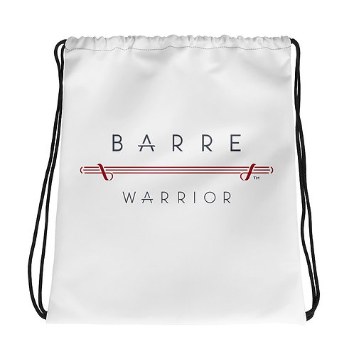 Barre Warrior Drawstring bag