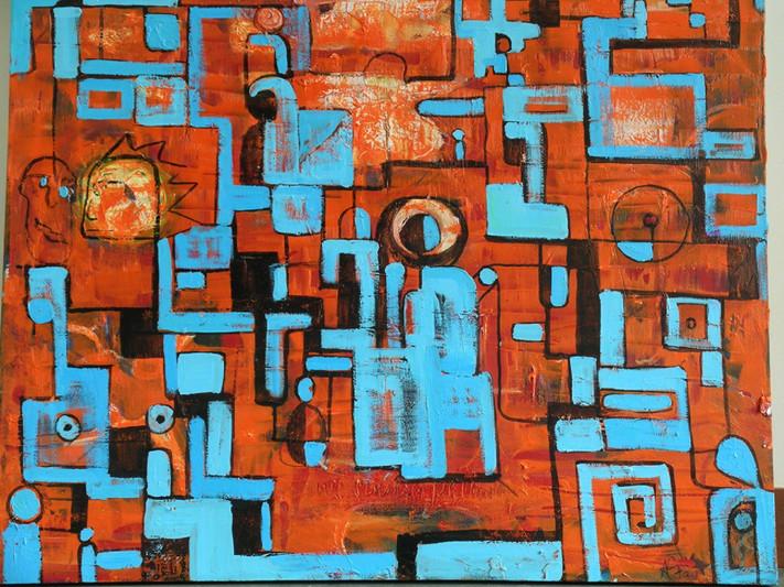 oil on canvas, 2000