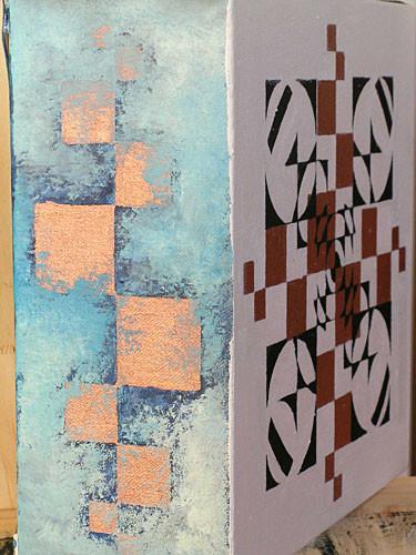 Geometric Study oil on canvas 1866x1866mm 2004