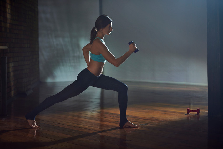 Knee Repeater and Lunge Series-photo Chris Sisarich
