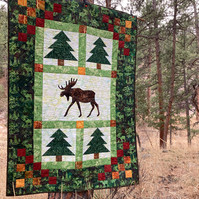 Moose in the Pines pattern