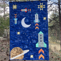 To the Moon and Back pattern