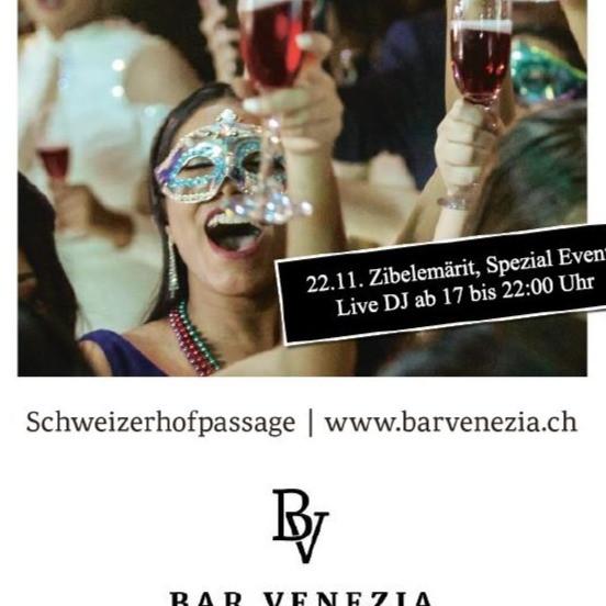 Zibelemäritparty in der Bar Venezia mit Live DJ