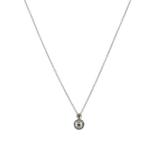 Tahiti pearl pendant