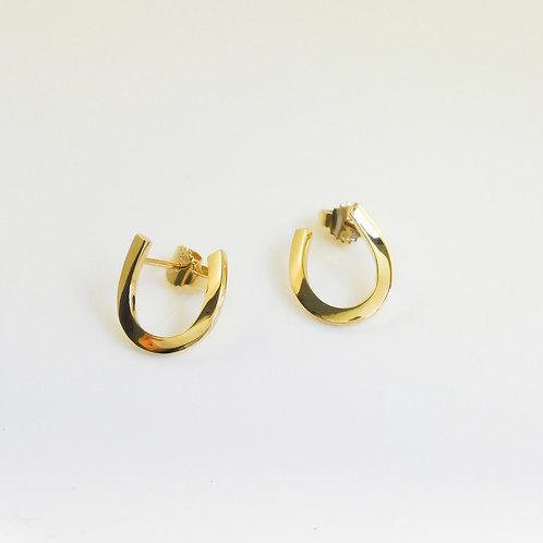 18ct. yellow gold studs