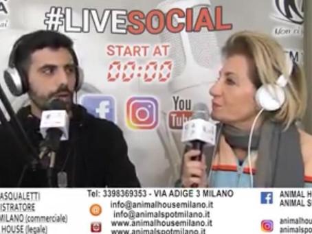 Intervista Live Social a Giulia Pasqualetti
