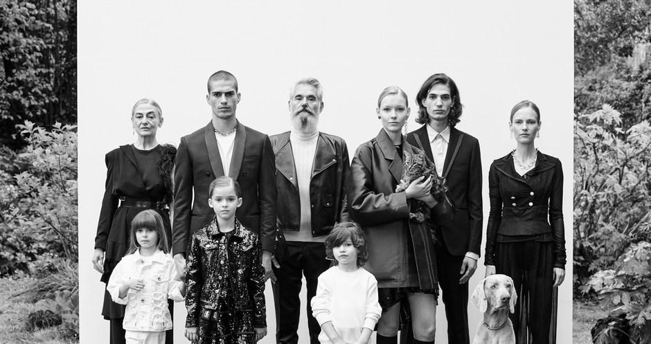 Campagna Fotografica Vanity Fair: OGNI FAMIGLIA FELICE E' UNA FAMIGLIA