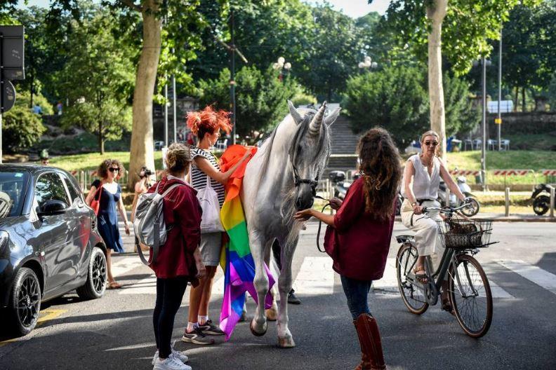 Unicorno a Milano